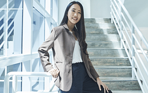 Why this aspiring computer scientist has her sights set on a career in the maritime industry