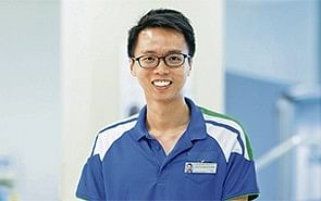 He helps patients find their footing