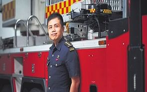 Tapping technology to fight fires