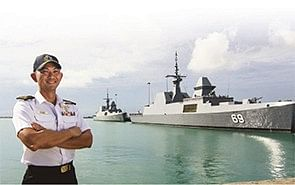 In service of Singapore's maritime defence