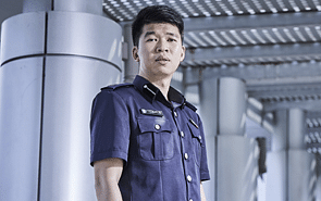 This police officer is proud to don blue, and serve fellow Singaporeans with heart
