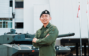 This soldier speaks fluent Bahasa Indonesia - and he even wrote a thesis in the language
