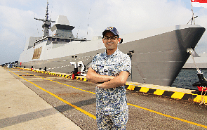 From deadly mines to enemy incursions, this navy captain watches out for dangers of the deep