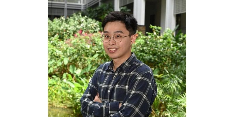 He takes charge of his own learning journey at Yale-NUS