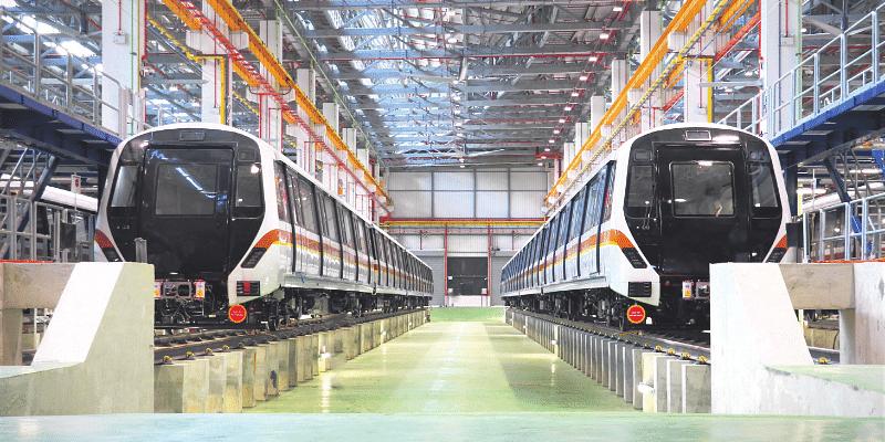 Make a rail impact